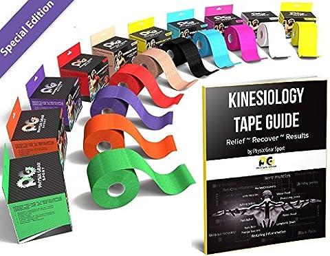 Physix Gear Sport Kinesiology Tape 2