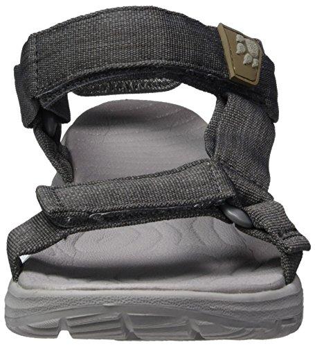Jack Wolfskin Damen Seven Seas 2 Sandal W Sport Grau (Tarmac Grey)