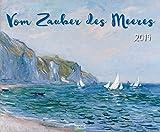 Vom Zauber des Meeres 2019: Kunstkalender der Meer-Landschaft. Großer Wandkalender mit Werken von Künstlern aus Realismus bis Expressionismus. Foliendeckblatt. Querformat 55 x 45,5 cm.