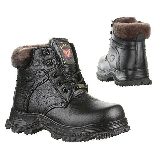Kinder Schuhe, GP05, BOOTS Schwarz
