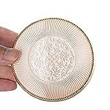 15ml 0.5 oz cuscino d'aria soffio in polvere - vuoto lusso riutilizzabile cosmetico soffio di polvere caso contenitore titolare con cuscino d'aria spugna e specchio