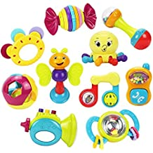 Royals Rattle for Kids Pack of 6, Multicolour