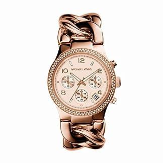 Michael Kors MK3247 – Reloj de cuarzo con correa de acero inoxidable para mujer, color rosa