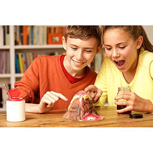 EP-Toy Jouets expérimentaux scientifiques, Laboratoire Scientifique Casse-tête pour Enfants, Manuel d'expérimentation Scientifique, kit de Jouets Bricolage, Jouets éducatifs
