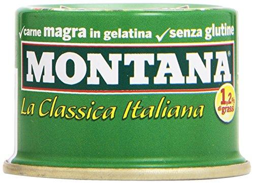 Montana - Carne, magra, in gelatina - 210 g  3 lattine