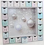 matrasa Adventskalender zum befüllen - mit 24 befüllbaren Boxen -