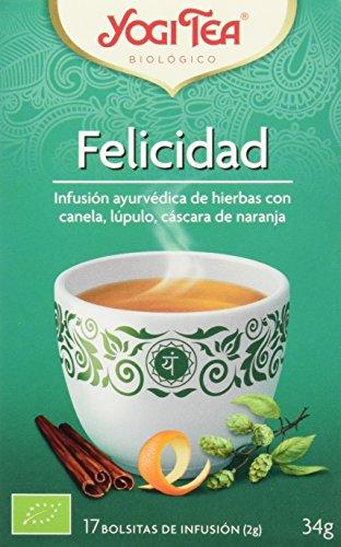 Yogi Tea 1172 - Infusión de hierbas Felicità, 34 gr.