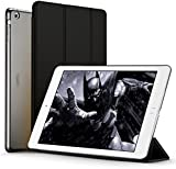iPad Air Case (NOT for iPad Air 2), ESR iPad Air Smart Case Cover Ultra Slim Synthetic Leather and Translucent Frosted Back Magnetic Cover with Auto Wake & Sleep Function for Apple iPad Air / iPad 5 Case (Mysteriou Black)
