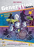 Thievon Eric Generation Batterie Drums Book/2Cd French