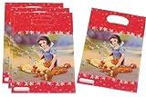 Unbekannt 6 Stk. Partytüten Schneewittchen und die 7 Zwerge Disney Geburtstagstüten Folie Mitgebsel Tüten