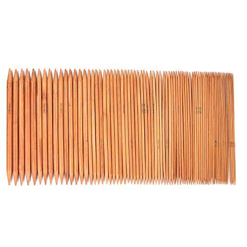 LIHAO Bambus Stricknadeln