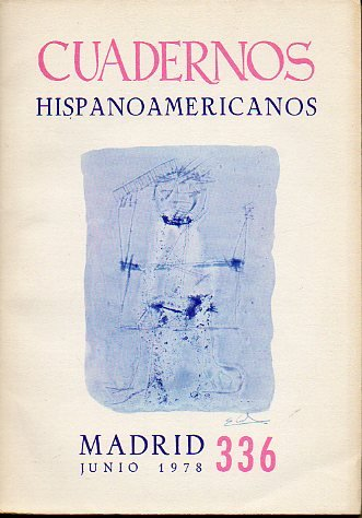 CUADERNOS HISPANOAMERICANOS. Revista mensual de cultura hispánica. Nº 336.