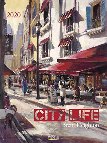 City Life 2020: Großer Kunstkalender. Hochwertiger Wandkalender mit Meisterwerken von Brent...