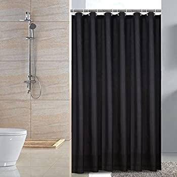 s altmeyer shower bedbathhome curtain liner water fabric black or maytex in repellent