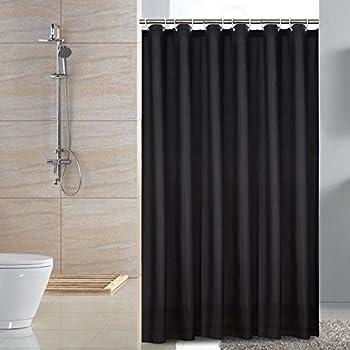 Rideau de douche imperm able sfoothome en polyester r sistant la moisissure et lavable - Moisissure noire douche ...