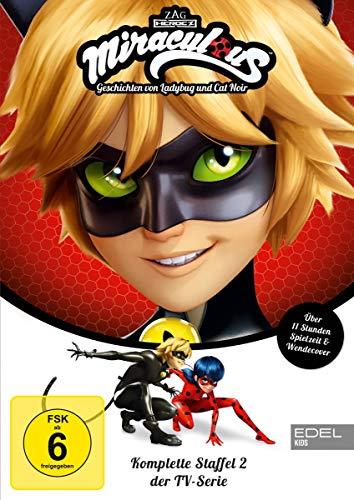 Miraculous - Geschichten von Ladybug & Cat Noir - Die komplette 2. Staffel [3 DVDs]