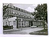 AK Seebad Ahlbeck, Ostsee-Hotel; Auto, Motorrad; gelaufen, ca. 1964