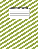 Best Creative Composition Notebooks - Composition Notebook: Green Diagonal, 8.5 x 11, 115 Review