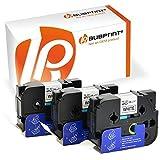 Bubprint 3 Schriftbänder kompatibel für Brother TZE-251 TZE 251 für P-Touch 2430PC 2730VP 3600 9500PC 9700PC D600VP D800W E500VP H500 P700 P750W 24MM
