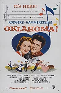 OKLAHOMA REPRODUCTION FILM PHOTO POSTER NO.1 16X12""
