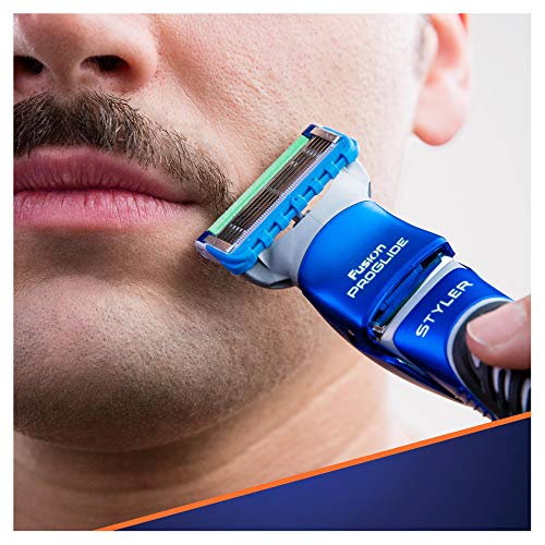 Gillette Fusion ProGlide Styler Rasoio a Batteria con Regolabarba, Regola, Rade e Rifinisce, con 1 Lametta di Ricambio - 5