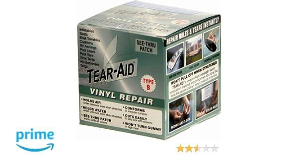 Tear-Aid Reparaturflicken Typ B Reparaturset Flicken Reparatur Kit Gewebeband Vi