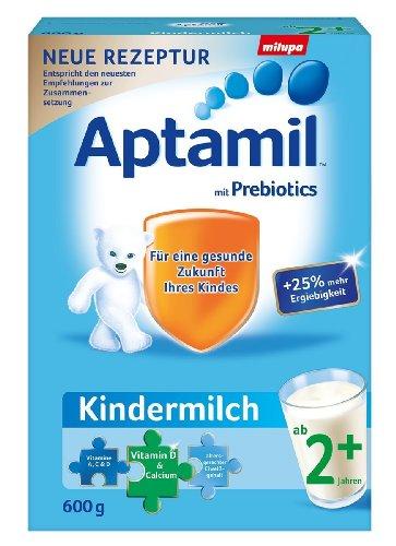 Aptamil Kinder-Milch 2+ ab dem 2. Jahr, 600g Pulver