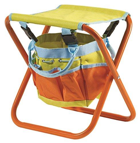 Briers bri122ks Kinder Garten Werkzeug Tasche Sitz Lagerung, Orange/Blau/Grün, 0,31x 10x 38cm