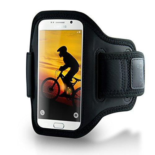 vau ActionWrap - Sport-Armband Tasche, Hülle passend für Samsung Galaxy S6 / S6 Edge -
