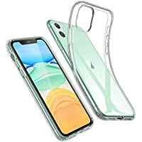 ESR Cover per iPhone 11, Custodia Essential Zero in TPU Morbido, Sottile e Trasparente Compatibile con iPhone 11 da 6.1 Pollici, Custodia Morbida in Silicone Flessibile - Gelatina Trasparente