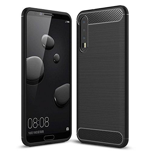 Coque Huawei P20 Pro , AROYI Huawei P20 Pro Coque Silicone TPU Premium Flexible et Souple Etui Housse pour Huawei P20 Pro – Noir