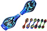 #4: Wave board with Mirror Surface PU wheel with LED Flash lights by Ratna International