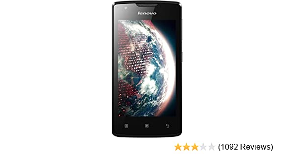 Lenovo A1000 Price Buy Black Online At Best In India Amazonin