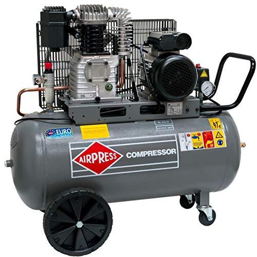 Airpress® Druckluft- Kompressor HL 425-90 (2,2 kW, max. 10 bar, 90 Liter Kessel) Stromanschluss 230 V