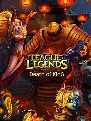 League of Legends Death of King book cover