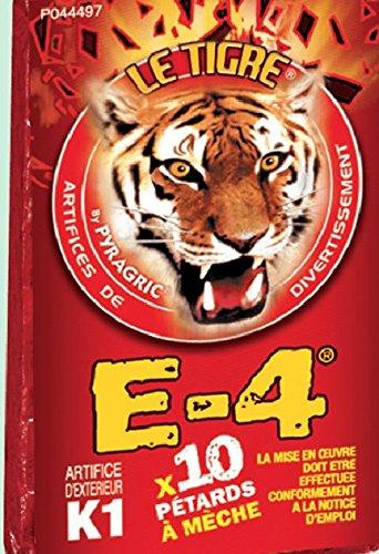 10 PAQUETES DE 10 PETARDOS E-4 (80 PETARDOS)