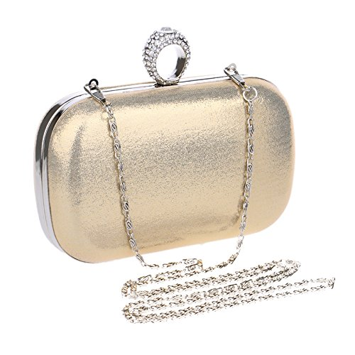 Borse per notebook donne borsa moda europea piega diagonale one-spalla di lusso borse sposa bellezze Pochette da sera decorato borse tinta unita,Nero - Sposa Sposa Borsa Borsa