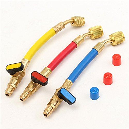 CHENXI Shop 800PSI R410A R134A R12R22A/C Kältetechnik Connector Adapter Schläuche Set