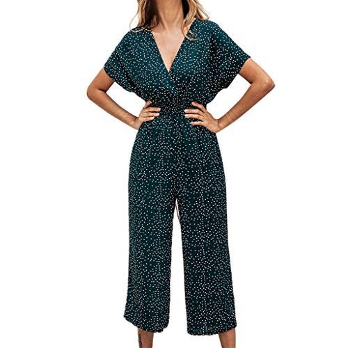 cc5c763986e8c7 MOTOCO Damen Jumpsuit Sling Vest trägerlose Umhängetasche hoher  Taillengürtel beiläufiger Loser Overall(XL