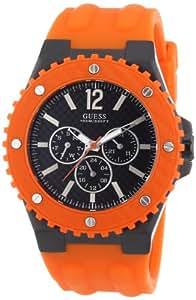 Guess Herren-Armbanduhr OVERDRIVE Analog Quarz Kautschuk W11619G4