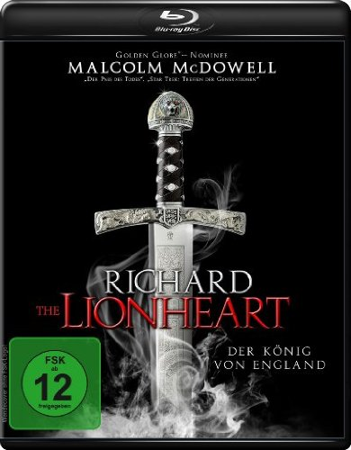 Richard the Lionheart - Der König von England [Blu-ray] [Edizione: Germania]
