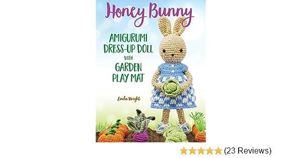 Pretty Bunny Amigurumi in Dress Easter rabbit crochet Easter | Etsy | 315x600