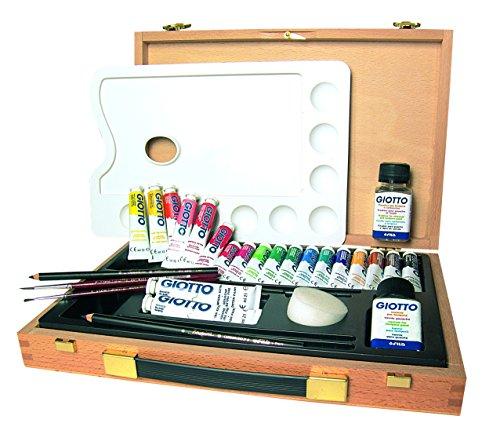 Giotto 507400 - professional art - valigetta pittore in legno