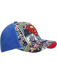 Superman - Gorra de Superman con diseño de cómic para niños