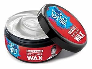 Set Wet Hair Wax, Glaze Amaze, 75g