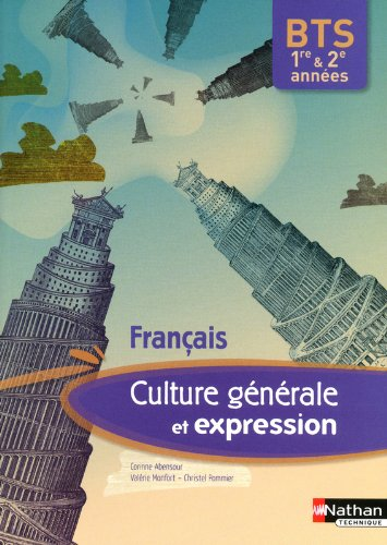 Français - Culture générale et expression.