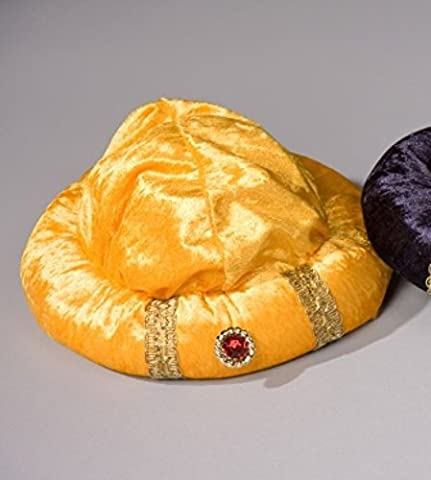 Turban goldgelb