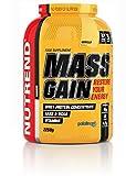 Nutrend MASS GAIN 2250g Biscuits Saveur régénération de concentré de glucides-protéines et simultanément pour la promotion de la croissance musculaire
