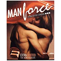 Manforce Extra Dotted Condoms -Chocolate Flavoured (Pack of 3 Condoms)(Ship from India) preisvergleich bei billige-tabletten.eu