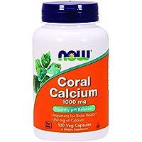 NOW Coral Calcium 1000mg, 100 Stück preisvergleich bei billige-tabletten.eu